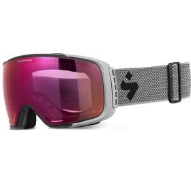 Sweet Protection Interstellar RIG Reflect BLI Goggles Heren, nardo gray/nardo plaid-RIG amethyst